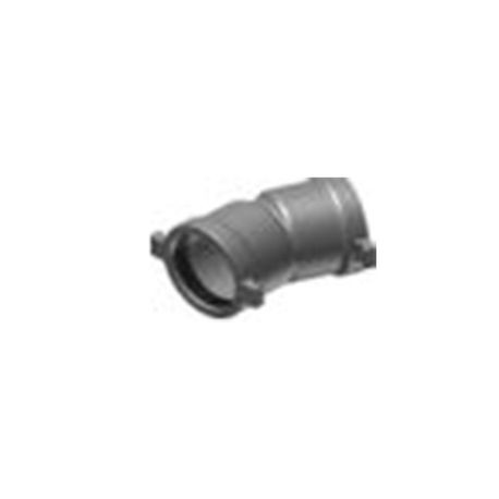 "The Harrington Corporation - 6"" 22-1/2° Bend Ductile Iron Elbow"