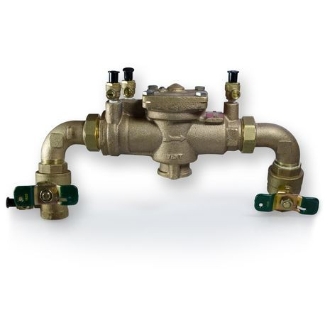 "Watts - 1"" Union With Elbows Backflow Preventer"