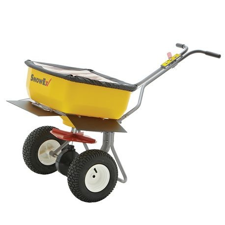 SnowEx - 160 LBS Capacity Broadcast Push Spreader