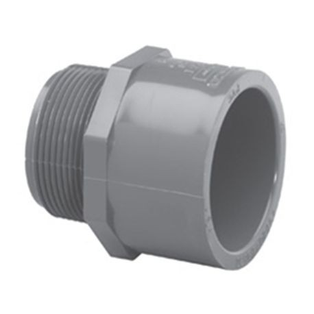 "Spears - 1"" Sch80 Male Adapter MPT X Slip"