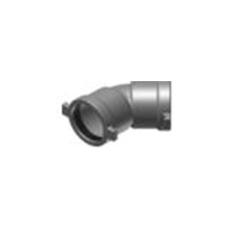 "Harco - 6"" Ductile Iron 45° Bend Elbow"