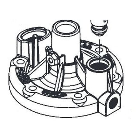 "Toro - 1"" and 1-1/2"" Bonnet Assembly For P-220 & P-220G Series"
