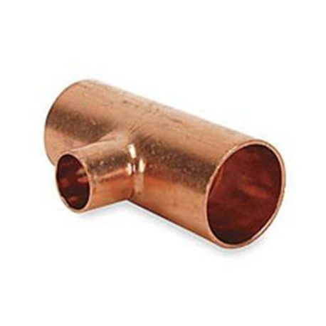 "1"" X 1"" X 3/4"" Copper Reducing Tee C X C X C"