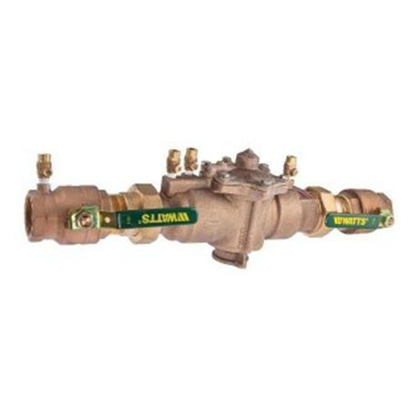 "Watts - 1-1/2"" Union With Elbows Backflow Preventer"