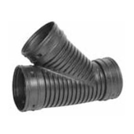 "Advanced Drainage Systems - 3"" Single Wall Wye Corrugated Fitting"