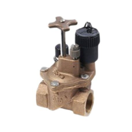 "Toro - 1"" Brass Electric Angle Valve"