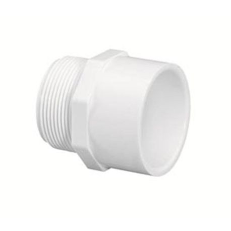"Spears - 8"" Sch40 PVC Male Adapter MPT X Slip"