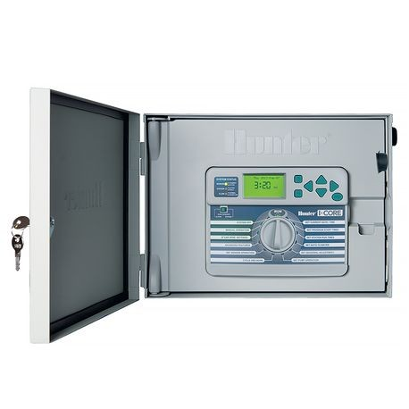 Hunter - I-Core - 42 Station Indoor/Outdoor Controller With Metal Cabinet