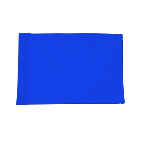 Standard Golf - Tube Style Nylon Flag - 200 Denier - Medium Blue - Set of 9