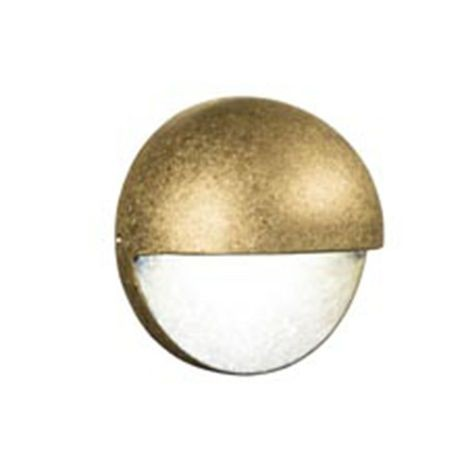 FX Luminaire - MS Series 1LED Wall Light With Zoning & Dimming - Bronze Finish