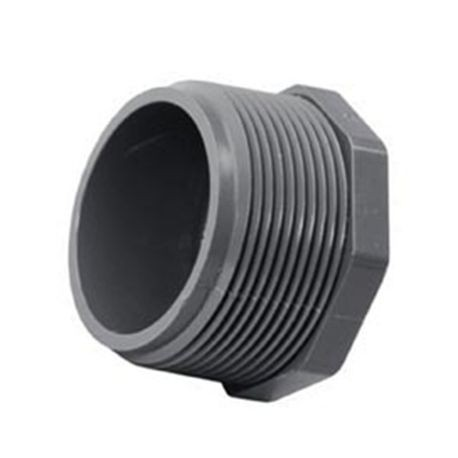 "Spears - 1"" Sch80 PVC Plug - Threaded"