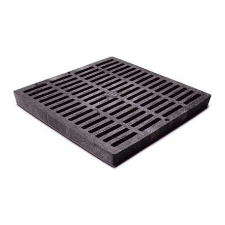 "NDS - 12"" X 12"" Black Square Grate"