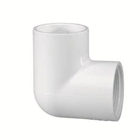 "Spears - 1/2"" Sch40 PVC 90&deg Elbow Slip X FPT"
