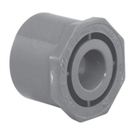 Spears - Sch80 PVC Reducer Bushing (Flush Style) Spigot X Slip