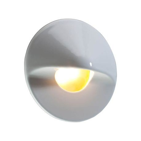 FX - MO Series Wall Light - White Gloss