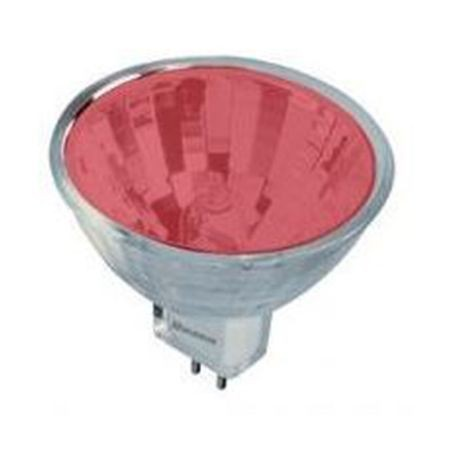 Halco - 50W 36° MR16 Incandescent Lamp - Red