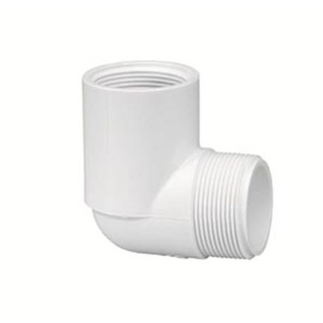"Spears - 3/4"" Sch40 PVC 90° Street Elbow MPT X FPT"