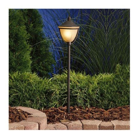 Kichler Lighting - Round Path Lantern - Textured Tannery Bronze Finish