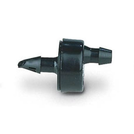 Rain Bird -  Pressure Compensating Emitter, Single Outlet, Black, 1.0 GPH