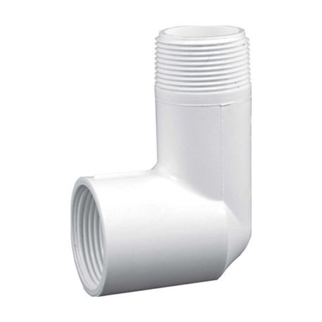 "Lasco - 1-1/2"" MIPT Elbow Outlet Acme X MIPT"