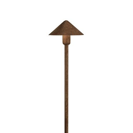 Kichler - Fundamentals™ 24.4W Incandescent Path Light - Textured Tannery Bronze