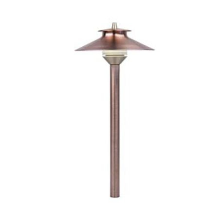 FX Luminaire - DL Series Xenon or Halogen Path Light - Bronze Metallic Finish
