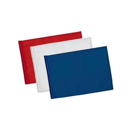 Standard Golf - Tube Style Nylon Flag - 200 Denier -  3 Red, 3 White, 3 Blue
