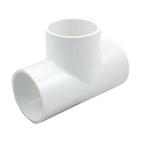 "Multi Fittings - 6"" X 4"" PVC Sewer Reducing Tee"