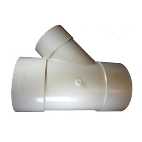 "Multi Fittings - 8""X 6"" PVC Sewer Reducer Wye"