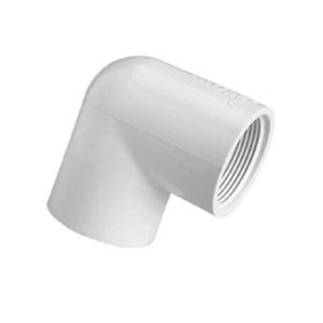 "Spears - 3"" Sch40 PVC 22-1/2"" Elbow Slip X Slip"
