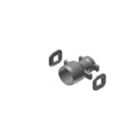 "Harco - 2-1/2"" X 2"" Ductile Iron IPS S.E.B. Reducer - Spgt x Bell"