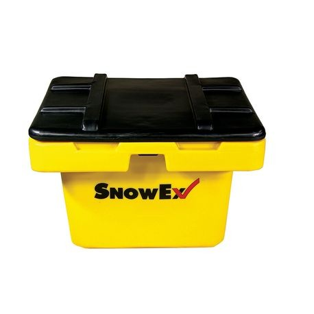 SnowEx - Small Heavy-Duty Storage Bin & Lid; 5 Cu. Ft.