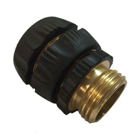 "The Source - 3/4"" Brass Swivel & 3/4"" Brass Nipple"