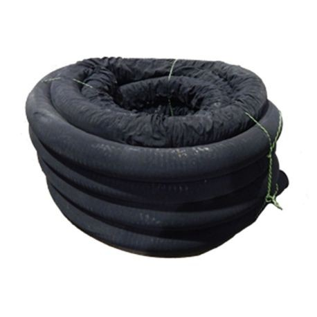 "ADS - 4"" X 100' Sock Tubing Corrugated Drain Tile"