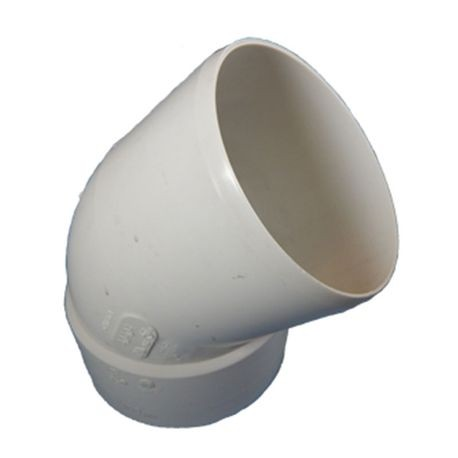 "Multi Fittings - 4"" PVC Sewer 1/8 Bend Street Elbow"