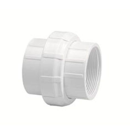 "Spears - 1"" Sch40 PVC Threaded Union O-Ring FPTxFPT"