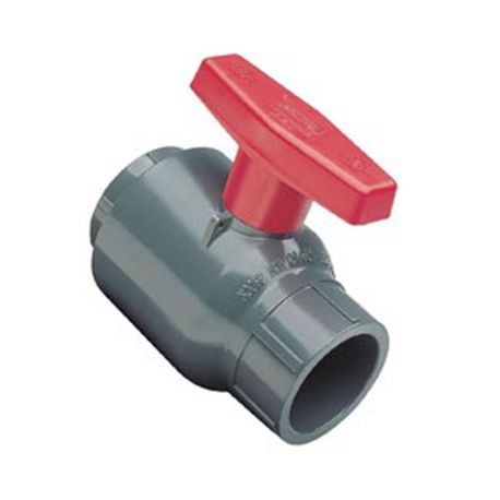 "Spears - 1/2"" PVC Compact Socket Ball Valve"