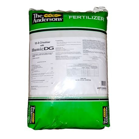 Andersons - 13-0-3 Fertilizer with Humic DG  - SGN 240 - 50 LB BAG