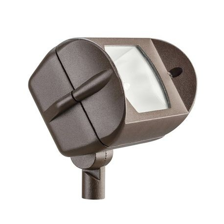 Kichler - Adjustable Wide Flood Light - Textured Architectural Bronze Finish