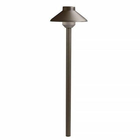 Kichler - Llenita Series LED Path Light - 2700K - Textured Architectural Bronze