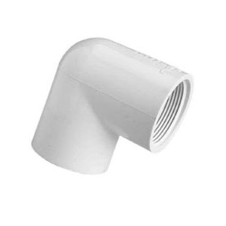 "Spears - 2"" Sch40 PVC 22-1/2"" Elbow Slip X Slip"