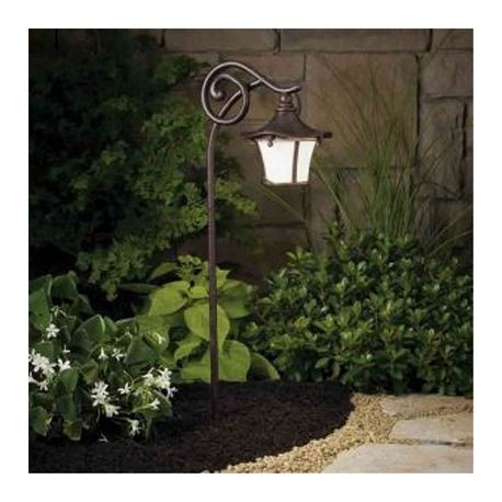 Kichler Lighting - Cotswold Path Lantern - Aged Bronze Finish