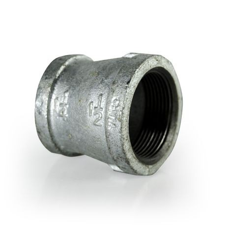 "American Granby Company  - 1-1/2"" X 1-1/4"" Galvanized Reducer Coupling"
