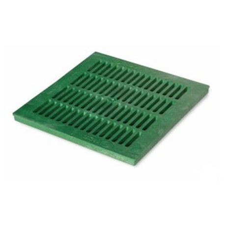 "NDS - 18"" Green Catch Basin Grate"