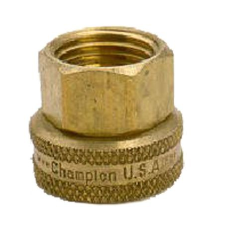 Brass Swivel Fitting 3/4 FHT X 1/2 FPT
