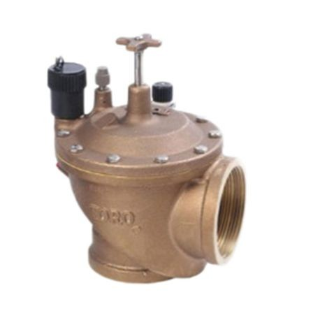 "Toro - 3"" Brass Electric Angle Valve"