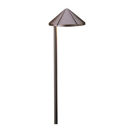Kichler Lighting - Side Mount Path Light - Textured Architectural Bronze Finish