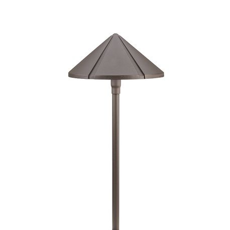 Kichler - Large Center Mount Path Light - Textured Architectural Bronze Finish