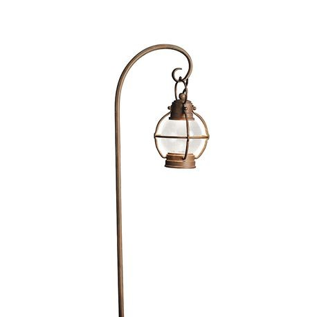 Kichler - Concord Path Lantern - Olde Brick Finish