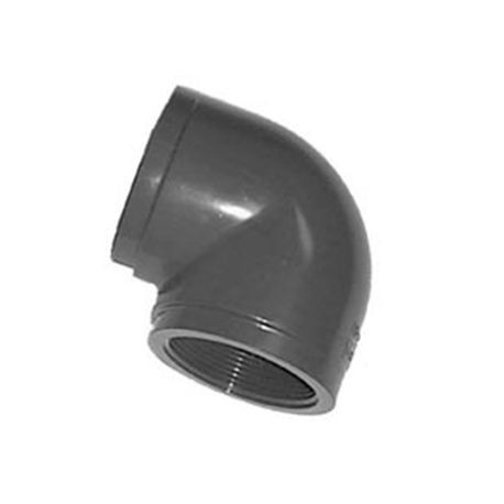 "Spears - 1/2"" Sch80 PVC Threaded Coupling FPT X FPT"